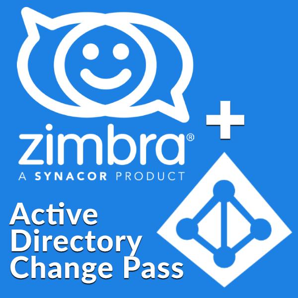 Zimbra org: Active Directory Change Password