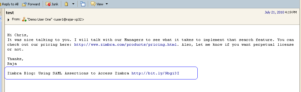 how to change your signature in zimbra